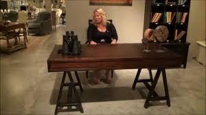 Stanley Furniture Desk Modern Craftsman Colony Floating Drawer Desk By Stanley Furniture