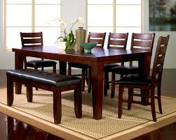 furniture scenic cherry dining room table interiors furnitures