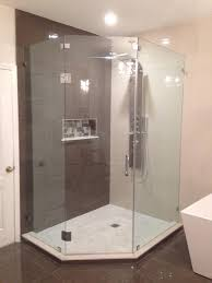 Angled Glass Shower Doors Shower Doors And Mirrors Miami South Florida