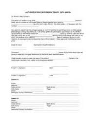 consent letter for child traveling with one parent credit card