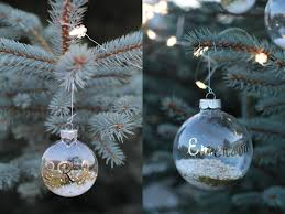 the chic country christmas diy snow u0026 glitter personalized