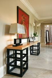 Designer Console Table With Wall Art Hall Contemporary And Modern Pots - Designer hall tables
