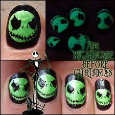 lacquered lawyer nail art blog the nightmare before christmas