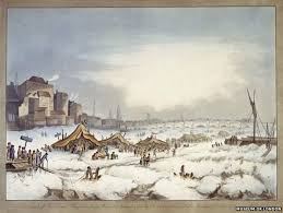 The Great Food Exposition River by Frost Fair When An Elephant Walked On The Frozen River Thames