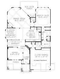 craftsman style house plan 4 beds 3 5 baths 2850 sq ft plan 54