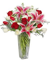 burlington florist fantastic fragrance flower arrangement in burlington on