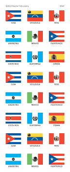 printable country stickers spanish speaking countries flag stickers spanish teacher s discovery