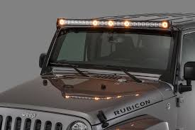 led light bar jeep wrangler quadratec j5 light bar with fasttrack mounting system 3 cube