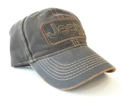 Jeep Hat Jeep Brown Leather Trucker Style Cap California Jeep Authority
