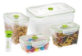 amazon com seal u0027in nestable food storage vacuum containers set