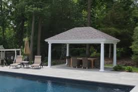 outdoor pool pavilions custom vinyl u0026 timber frame pa ny nj