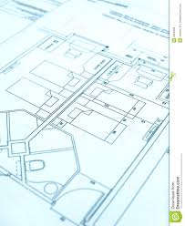 architect floor plan hotel construction royalty free stock photos