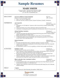 food expeditor resume 3 critical mistakes to avoid on your first ever resume