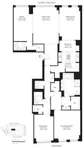 100 15 central park west floor plans 7 w 96th st 15a web id
