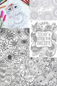 24 best color page images on pinterest mandalas coloring books