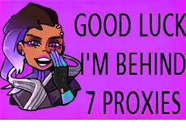 Proxy Meme - 25 best memes about good luck im behind 7 proxies good luck