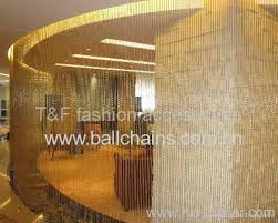 Chain Room Dividers - ball chain shimmer screen manufacturer from china t u0026f metal