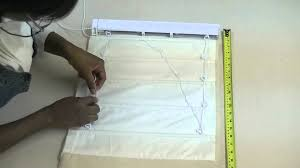 Roman Blind How To Make Pleated Roman Blind Part 2 Youtube