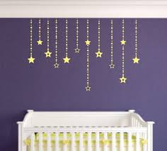 shooting star decal etsy falling stars wall decals decor girls bedroom moon celestrial