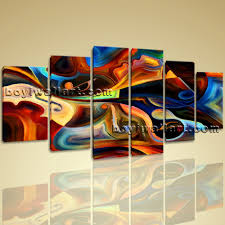 extra large abstract music guitar canvas art modern dining room 6