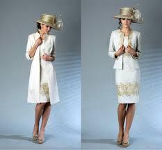 robe maman mariã e genou longueur mère de la mariée robes or appliques élégant