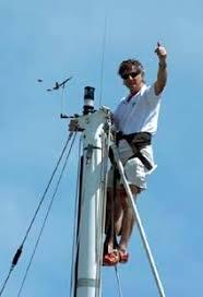 sailboat bosun u0027s chair with climbing system mastclimber atn