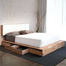 Platform King Bed With Storage Modern Bed Frames Uforia