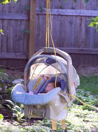 backyard baby swing outdoor furniture design and ideas