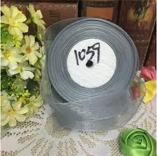 organza ribbon wholesale 10 yards lot 1 25mm grey organza ribbons wholesale gift