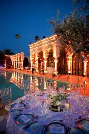 agence organisation mariage pics à bougies dans jardin de la palmeraie de marrakech www