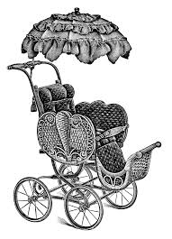 fashioned baby carriages free download clip art free clip