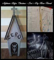 The Nightmare Before Christmas Home Decor Nightmare Before Christmas Zero U0027s Dog House Grave Stone Tutorial