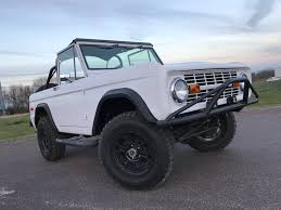 How Much Is The 2016 Ford Bronco 1975 Ford Bronco Maxlider Brothers Customs