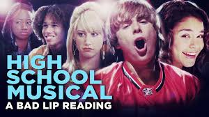 high musical a bad lip reading