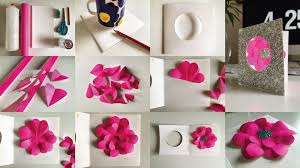 s day make paper flower greetings card the curve