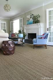 Seagrass Outdoor Rug by Living Room Solution Custom Cut Rug Kelly Elko