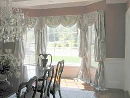 room dining room bay window treatments interior decorating ideas
