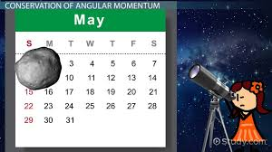 of conservation of angular momentum lesson