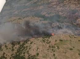 Wildfire Social Media App by Wildfire Burning Near Quartz Mountain State Park Kswo Lawton