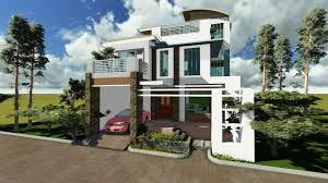 home design 3 story home design house designs in the philippines in iloilo by erecre