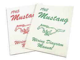 1965 mustang wiring diagram manual with color codes lamustang
