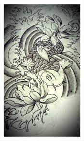 koi fish sketch by patrickjagersten94 on deviantart