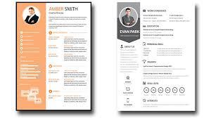 free modern resume templates psd 15 free elegant modern cv resume templates psd freebies