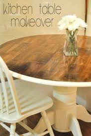 How To Paint A Dining Table If You Dont Want To This This On Your - Painting kitchen table