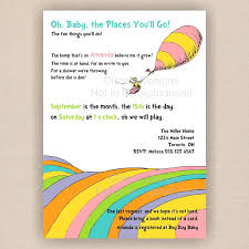 oh baby the places you ll go template oh the places you ll go invitation template