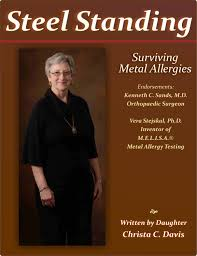 titanium allergies metal allergies from joint replacements caused debilitation