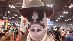 changing rorschach mask youtube
