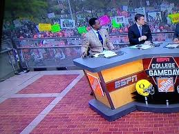 College Printer Meme - espn s college gameday signs by nudge printing