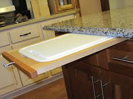 Ideas To Update Kitchen Cabinets How To Install A Pull Out Cutting Board In Kitchen Cabinet