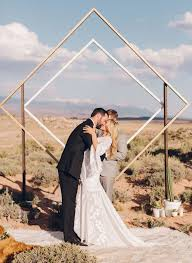 wedding backdrop outdoor 6 modern ceremony backdrops for outdoor weddings brides